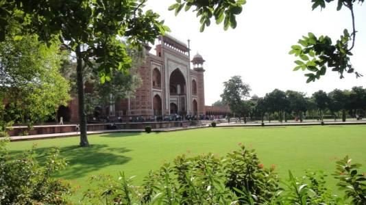 as red fort