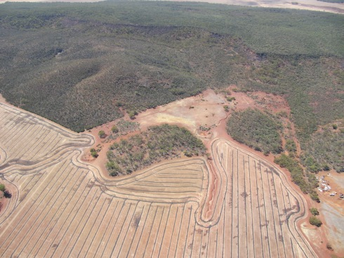the wongan hills with controlled traffic lines